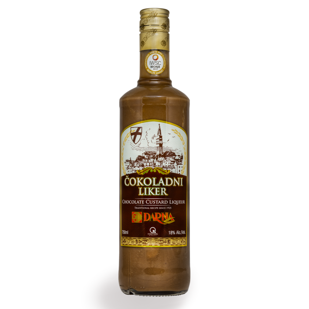 DARNA Liquor Cokoladni [Chocolate Custard Liquor] alc. 18% 6/750ml
