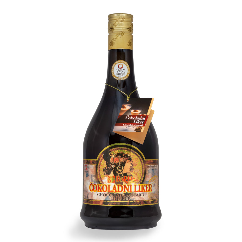 DARNA LUX Cokoladni Liker [Chocolate Custard Liquor] alc. 18% 6/750ml