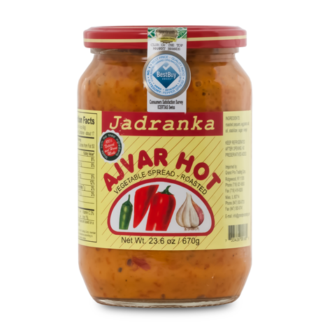 JADRANKA Ajvar Hot Relish 12/690g [14004]