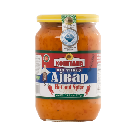 KOSTANA Ajvar Old Village Hot and Spicy 12/670g [58135]
