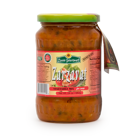 EURO GOURMET Zarzavat Vegetable Mix 12/682g