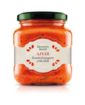 GRANNY'S SECRET Roasted Peppers Ajvar Homestyle Hot 6/550g [24502]