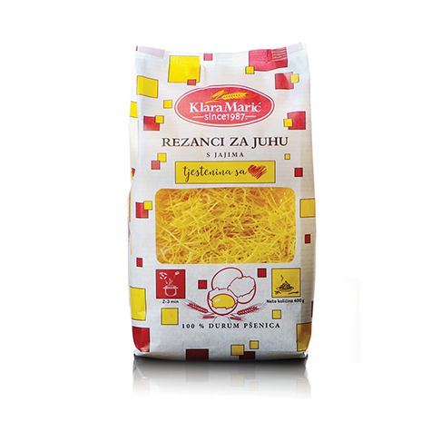 KLARA MARIC Durum Wheat Rezanci 8/400g