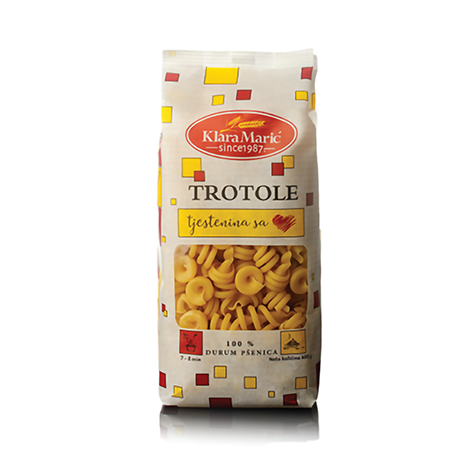 KLARA MARIC Durum Wheat Trotole 12/400g