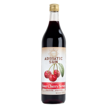 ADRIATIC SUN Syrup Sour Cherry 12/1L