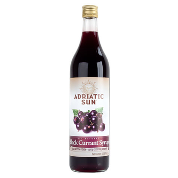 ADRIATIC SUN Syrup Black Currant 12/1L