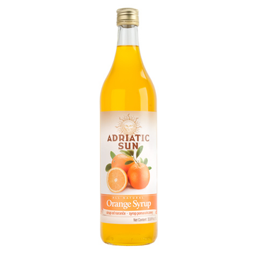 ADRIATIC SUN Syrup Orange 12/1L