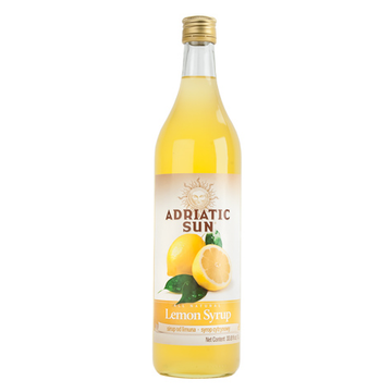 ADRIATIC SUN Syrup Lemon 12/1L