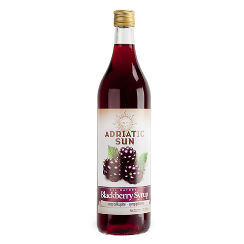 ADRIATIC SUN Syrup Blackberry 12/1L