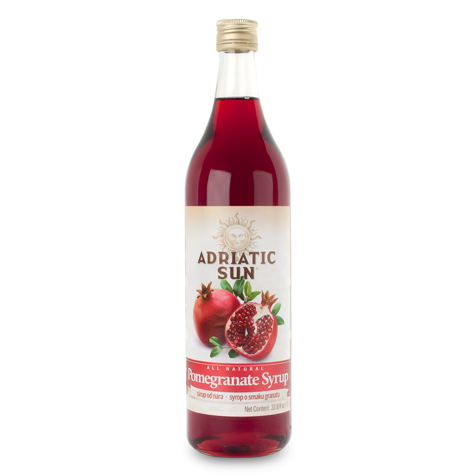 ADRIATIC SUN Syrup Pomegranate 12/1L