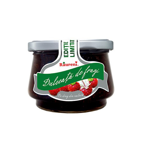 RAURENI Dulceata de fragi [Wild Strawberry Preserves] 6/250g
