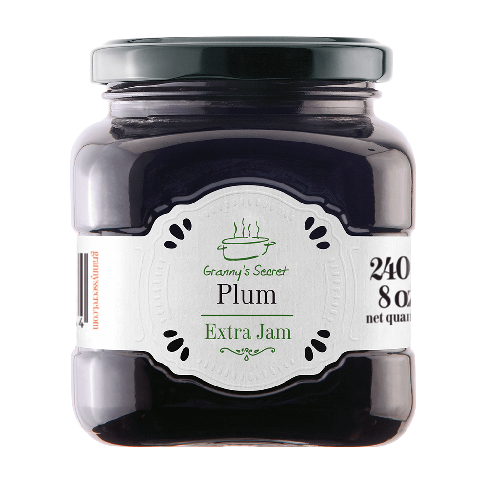 GRANNY'S SECRET Extra Jam Plum 6/240g [24532]