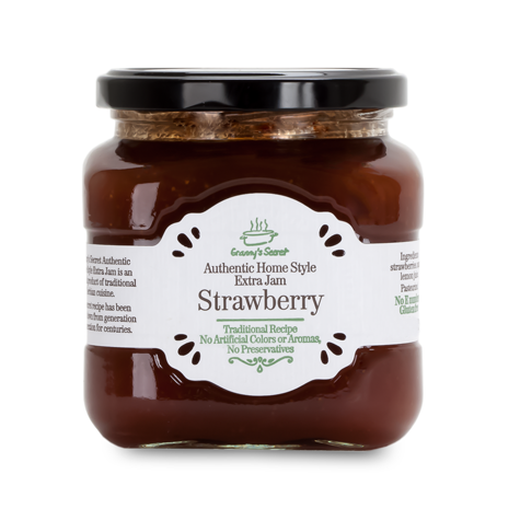 GRANNY'S SECRET Extra Jam Strawberry 6/240g