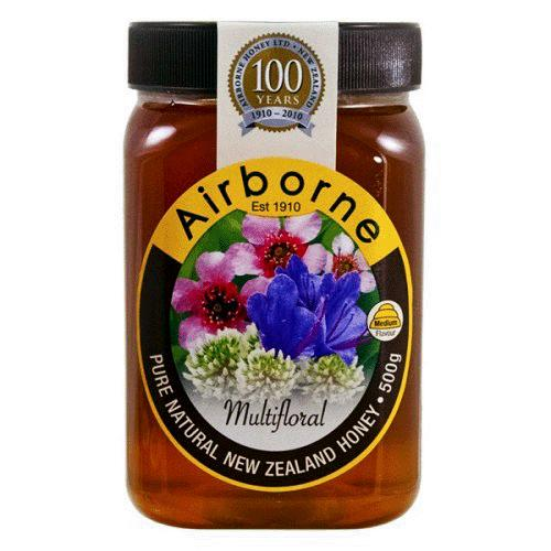 AIRBORNE Multifloral Honey 12/500g