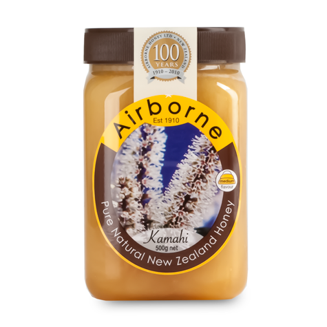 AIRBORNE Kamahi Honey 12/500g