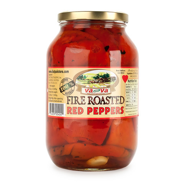 va-va Fire Roasted Red Peppers w/Garlic 6/2350g