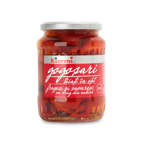 RAURENI Gogosari [Red Pepper Halves] 12/680g