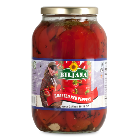 BILJANA Roasted Red Pepper 6/2500g