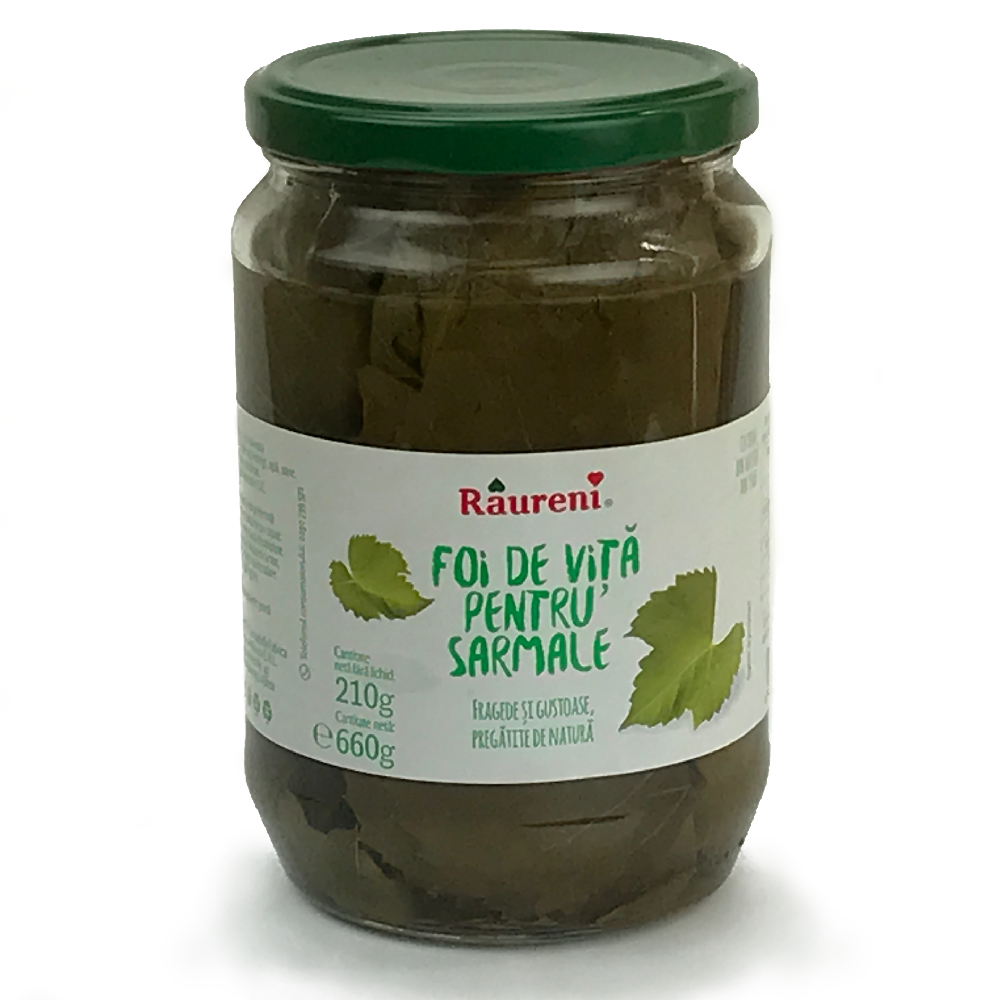 RAURENI Foi de Vita Grape Leaves 12/660g