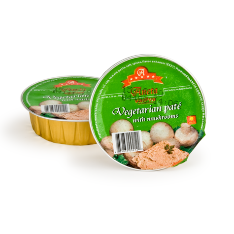 va-va Vegetable & Mushroom Pate 60/50g