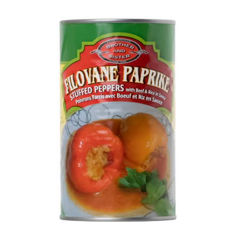 BROTHER AND SISTER Filovane Paprike [Stuffed Peppers] 12/670g