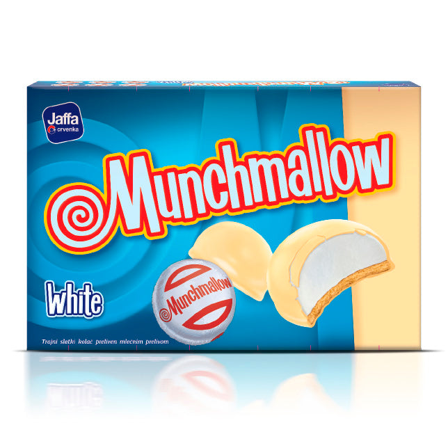 CRVENKA Munchmallow WHITE 24/105g