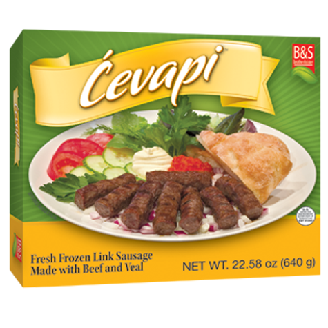 BROTHER AND SISTER Frozen Cevapi 32/1.6lb