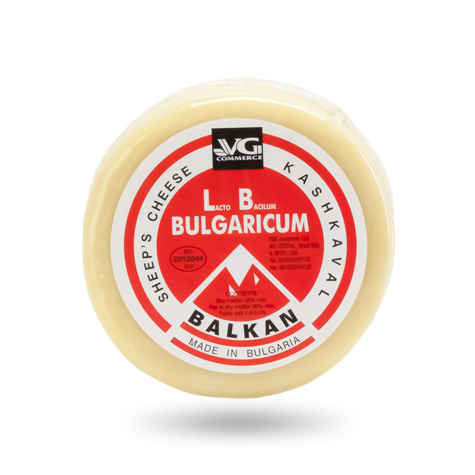 VG Bulgarian Kashkaval Sheep's Milk