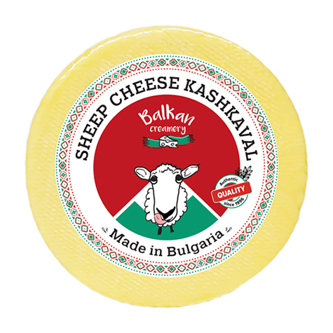 Balkan Creamery Kashkaval Cheese Sheep 12 x 400g