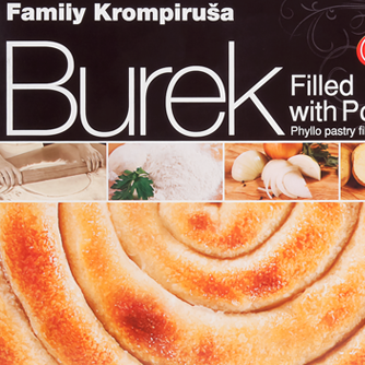 JAMI Burek Family Potato 6/500g (Frozen)