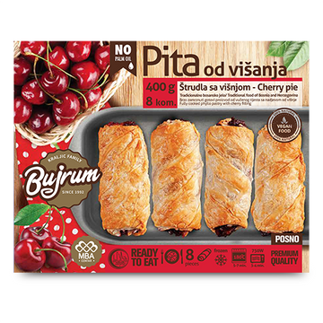 BUJRUM Fully Cooked Burek w/Cherry 6/400g [Frozen]