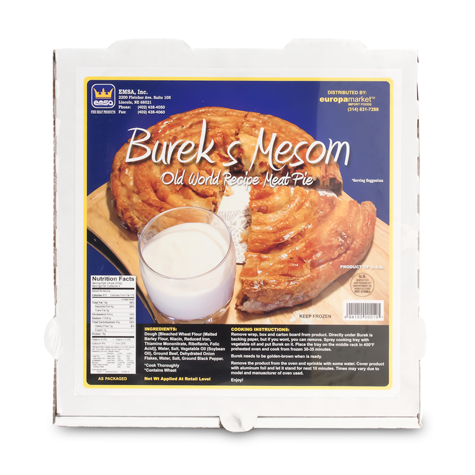 EMSA Burek with Beef Family Pack 12/2.6Lbs [Frozen]