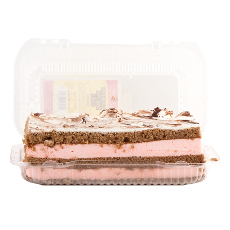 GRAND BAKERY Raspberry Mousse Cake 6/20oz [Frozen]