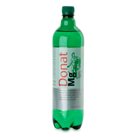 KOLINSKA Donat Mg Mineral Water 6/1L (price includes CA CRV)