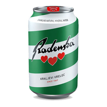 RADENSKA Mineral Water CAN 24/330ml
