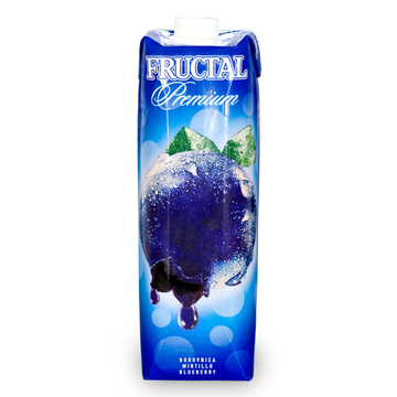 FRUCTAL Superior Nectar Blueberry 12/1L