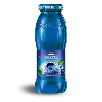 FRUCTAL Nectar Blueberry 12/0.20L (price includes CA CRV)
