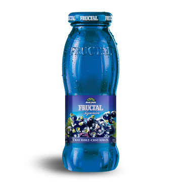 FRUCTAL Nectar Black Currant 12/0.20L  (price includes CA CRV)