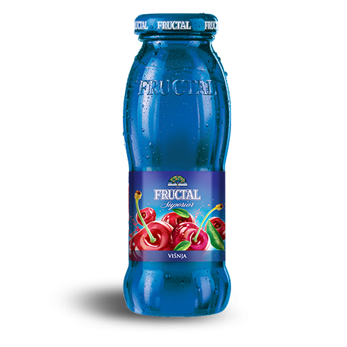FRUCTAL Nectar Sour Cherry 12/0.20L (price includes CA CRV)