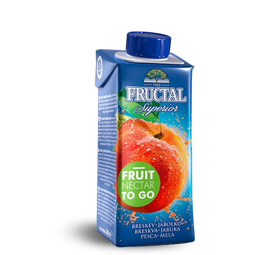 FRUCTAL Superior FRUIT TO GO Peach 24/0.20L