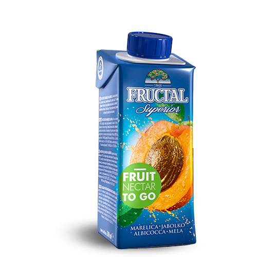 FRUCTAL Superior FRUIT TO GO Apricot 24/0.20L