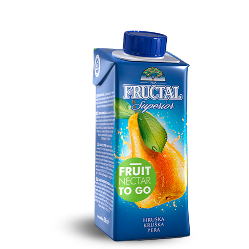 FRUCTAL Superior FRUIT TO GO Pear 24/200ml TETRA