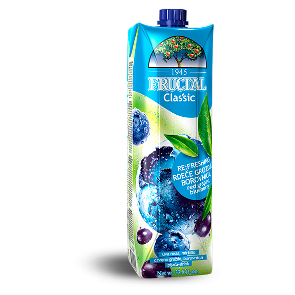 FRUCTAL Classic Blueberry 12/1L