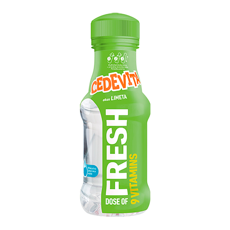 CEDEVITA GO Limeta 12/345ml (price includes CA CRV)