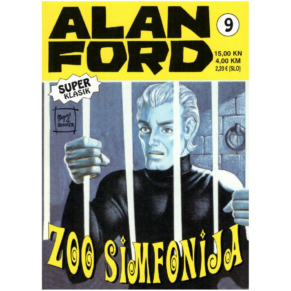 Alan Ford Super Classic 9 - Zoo Simfonia