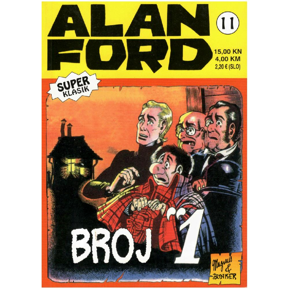 Alan Ford Super Classic 11 - Broj 1