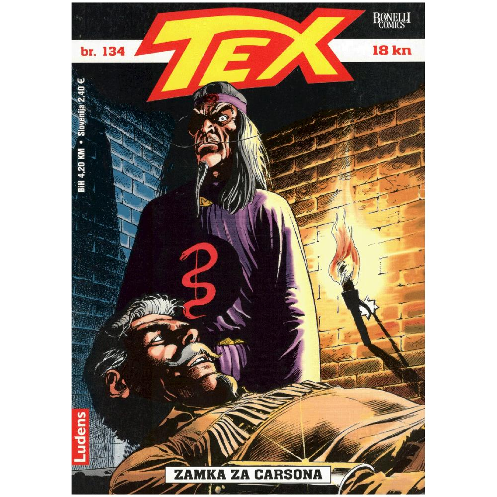 Tex Willer 134 - Zamka za Carsona