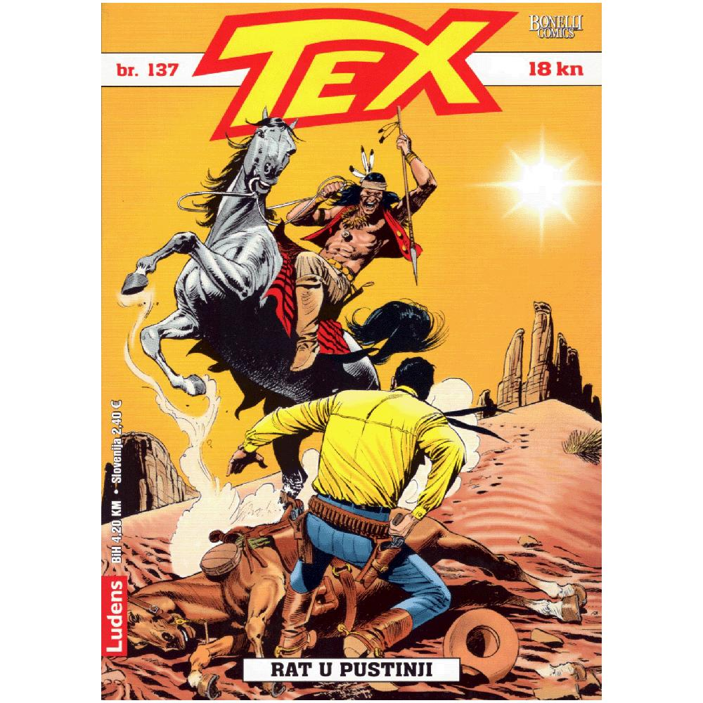Tex Willer 137 - Rat u Pustinji