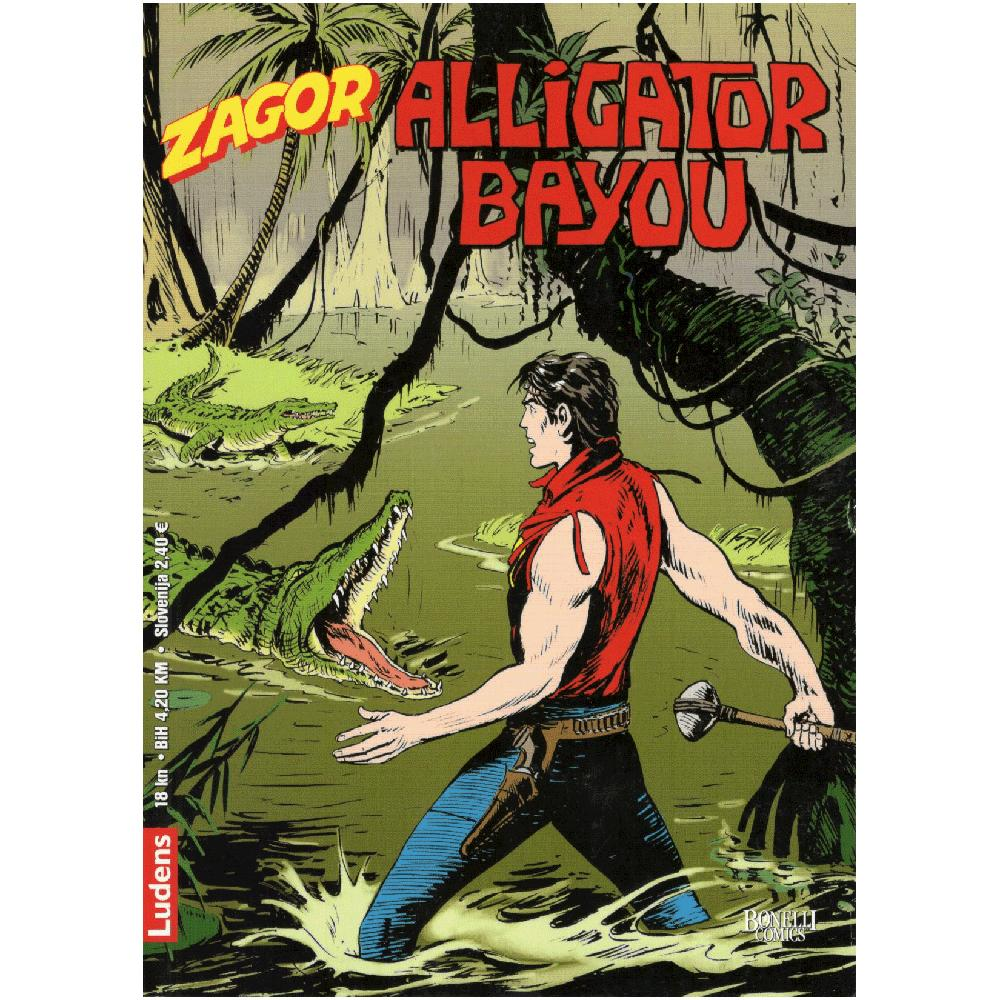 Zagor 237 - Alligator Bayou
