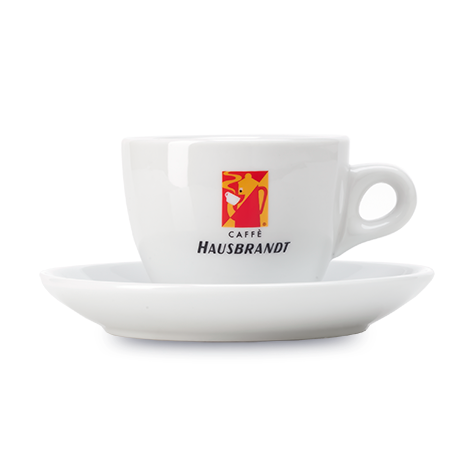 HAUSBRANDT Cappuccino Cups with Saucers 6pc Set